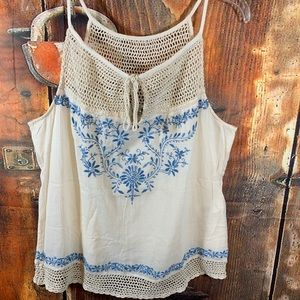 IRVING & FINE LUCKY BRAND TOP